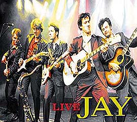 Design CD-Cover Jay live